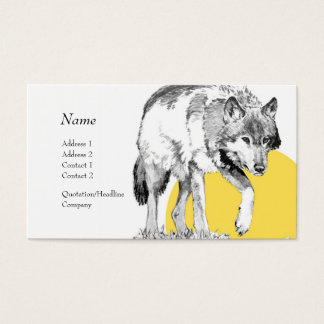 Profile Card - Wolf