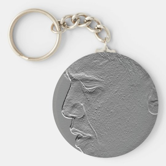 Profile In Courage Basic Round Button Key Ring