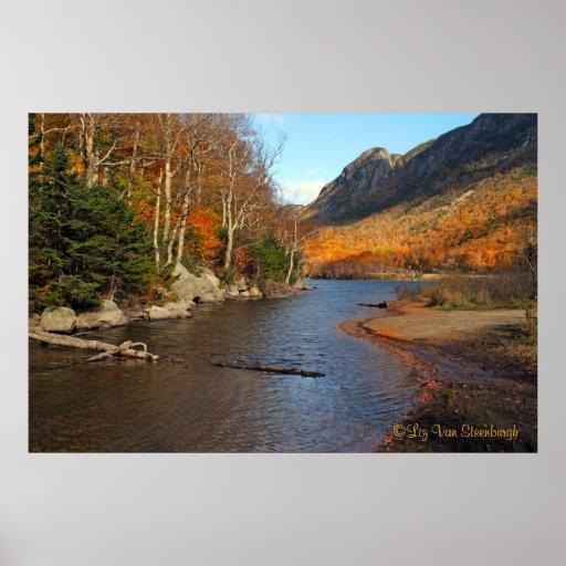 Profile Lake, New Hampshire Print