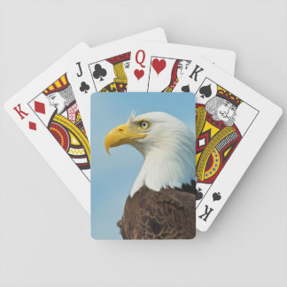 Profile Of A Bald Eagle Playing Cards