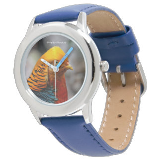 Profile of a Golden Red Pheasant Watches