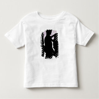 Profile of a man dancing with women in a nightclub toddler T-Shirt