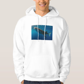 Profile of a whale shark, Indonesia Hoodie