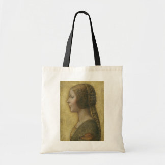 Profile of a Young Fiancee Budget Tote Bag