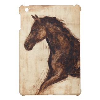 Profile of Brown Wild Horse Case For The iPad Mini