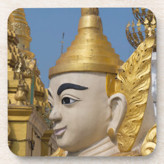 Profile Of Buddha Statue Coaster