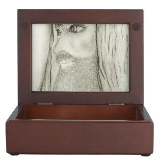 Profile of Jesus Memory Boxes