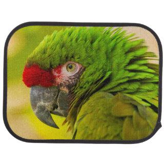 Profile of macaw at Santa Barbara Zoo Car Mat