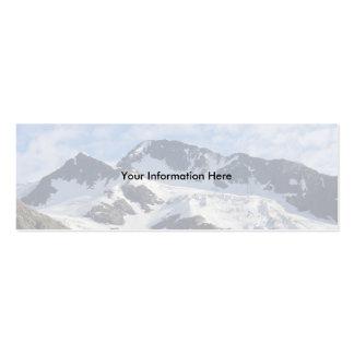 profile or business card, Landscape