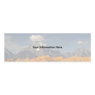 profile or business card, oxbow bend