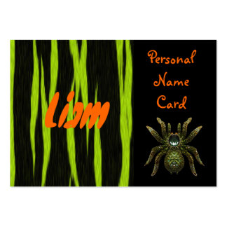 Profile Personal Name Card Green Spider Business Cards