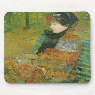 Profile Portrait of Lydia Cassatt Mary Cassatt Mouse Pads