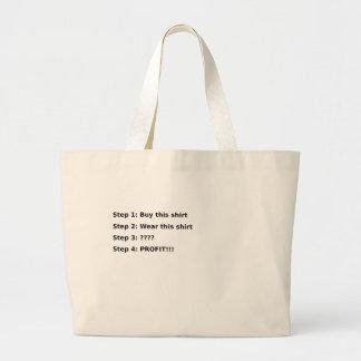 Profit Jumbo Tote Bag