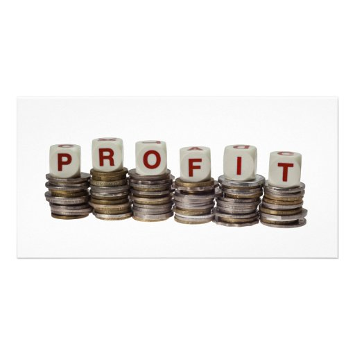 Profit Custom Photo Card