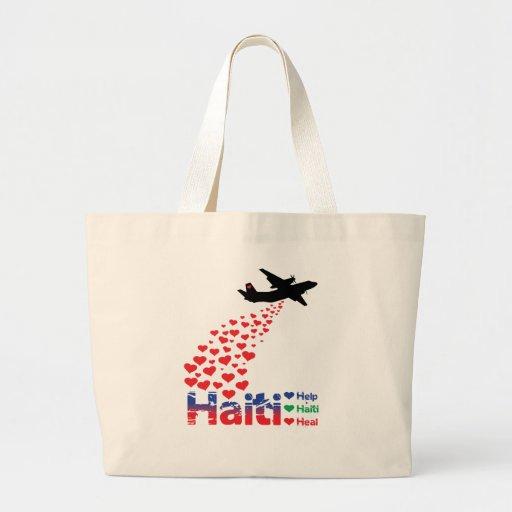 Profit to Unicef - Haiti Air Drop - Tote Canvas Bags