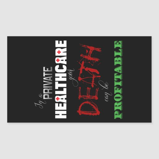 Profitable Healthcare Rectangular Stickers