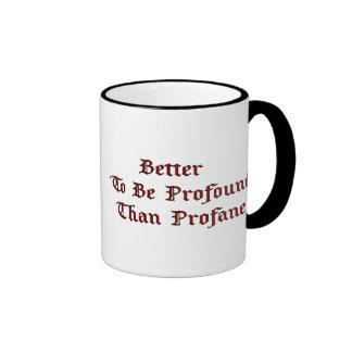 Profound Profane (prince valiant) Ringer Mug