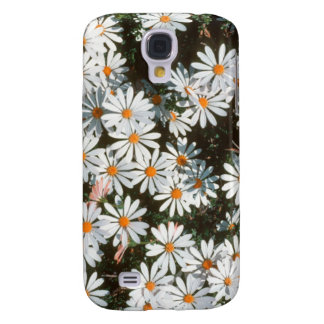 Profusion Of White Daises (Asteraceae) Galaxy S4 Case