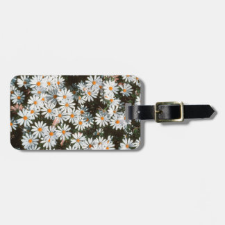 Profusion Of White Daises (Asteraceae) Luggage Tag