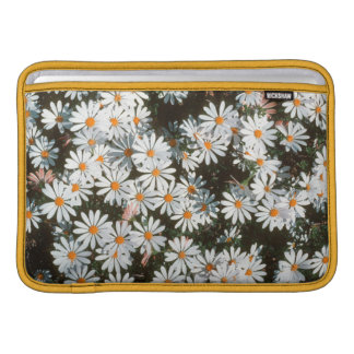 Profusion Of White Daises (Asteraceae) Sleeve For MacBook Air