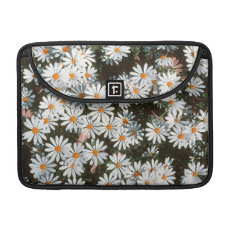 Profusion Of White Daises (Asteraceae) Sleeve For MacBook Pro