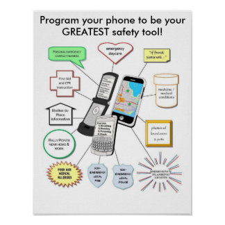 Program for Safety Poster