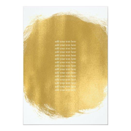 Program Insert Gold Paint Look