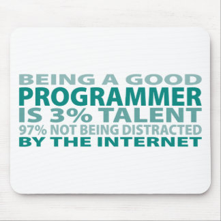 Programmer 3% Talent Mouse Pad