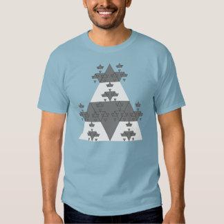 Programmer Algorithmic Triagle T-shirt Generator