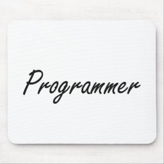Programmer Artistic Job Design Mouse Pad