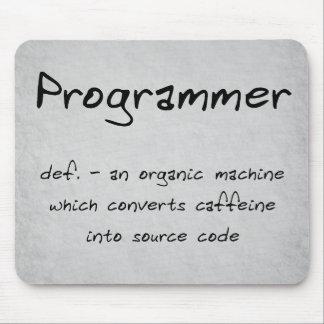 Programmer Mousepad (humor)
