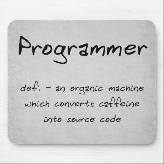 Programmer Mousepad (humour)