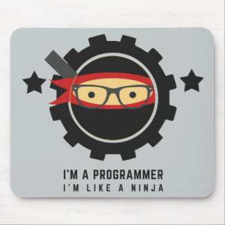 programmer mousepad:i'm like a ninja