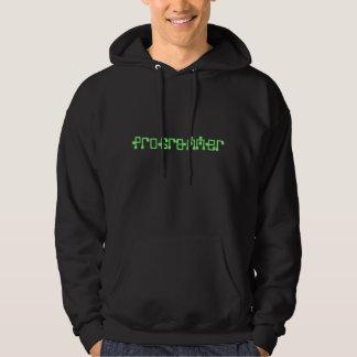 programmer neon green hoodie