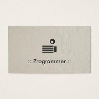 Programmer Simple Elegant Professional