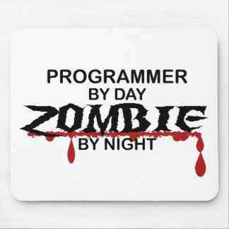 Programmer Zombie Mouse Pad