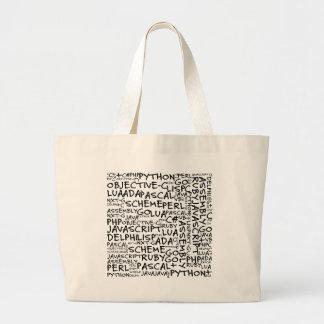 Programmers Have Multiple Programming Skills Jumbo Tote Bag