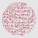 Programmers Have Multiple Programming Skills Round Sticker