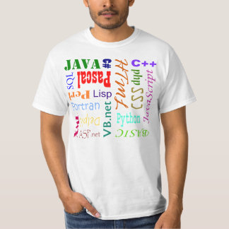 Programming Language Shirt