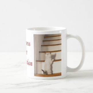 Progress Not Perfection Basic White Mug