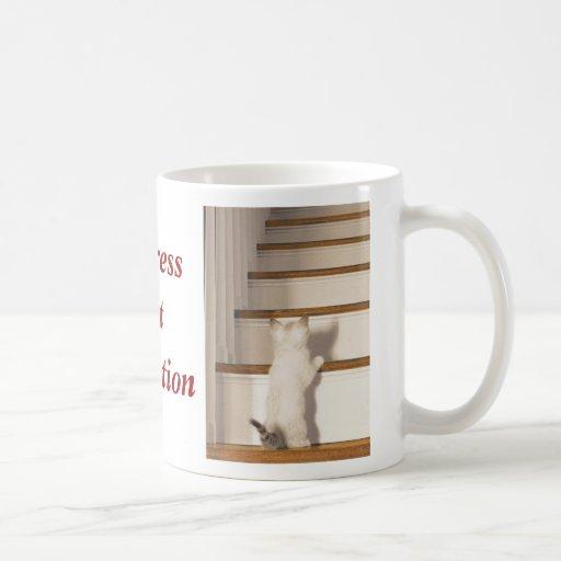 Progress Not Perfection Coffee Mugs
