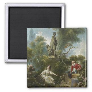 Progress of Love: The Rendezvous by Fragonard Magnet