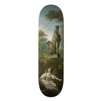 Progress of Love: The Rendezvous by Fragonard Skate Board