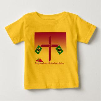 Progressista Cristão brasileiro Logo Baby T-Shirt