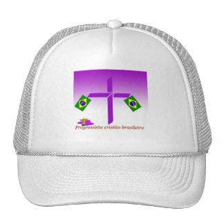 Progressista Cristão brasileiro Logo Trucker Hat