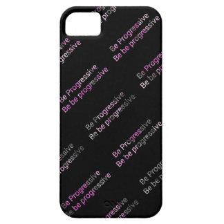Progressive phonecase iPhone 5 case