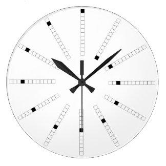 Progressive Slide Outward: Spiraling Time Large Clock