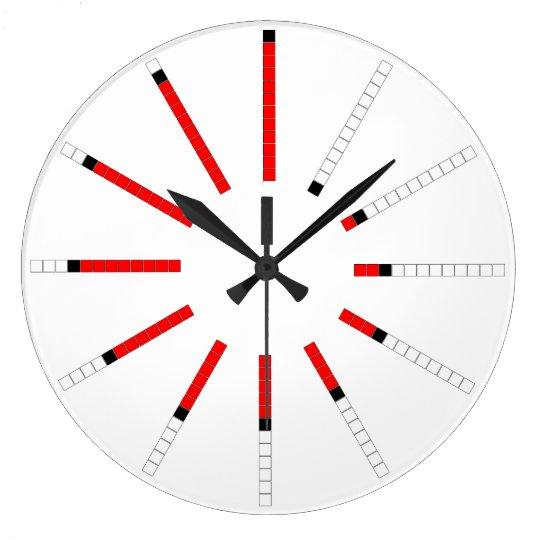 Progressive Slide Outward: Spiralling Time Large Clock