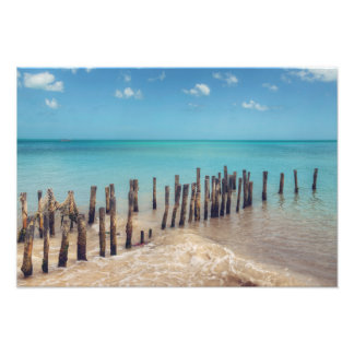 Progresso Beach Photo Print