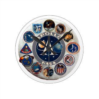 Project Apollo: The Composite Logo Clocks